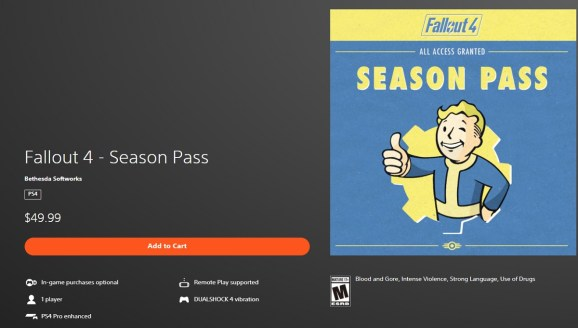 Fallout 4's DLC is the subject of a lawsuit alleging false advertising.