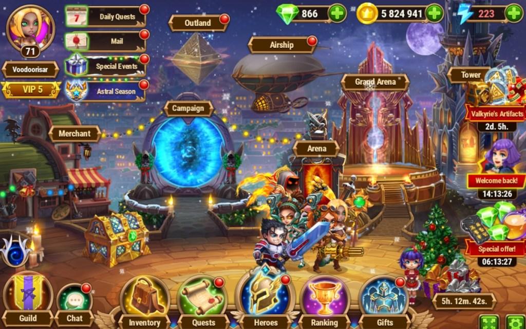 Hero Wars RPG maker Nexters generated $318 million in net bookings in 2020.