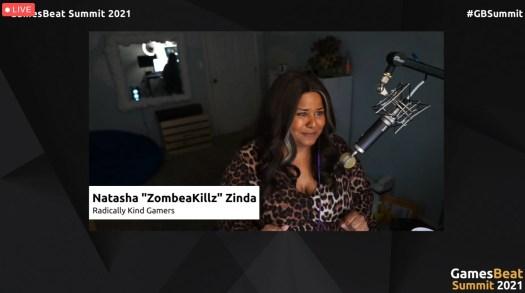 GamesBeat Summit 2021: Laura Miele takes Visionary Award, and Natasha 'ZombaeKillz' Zinda gets Up & Comer Award 5