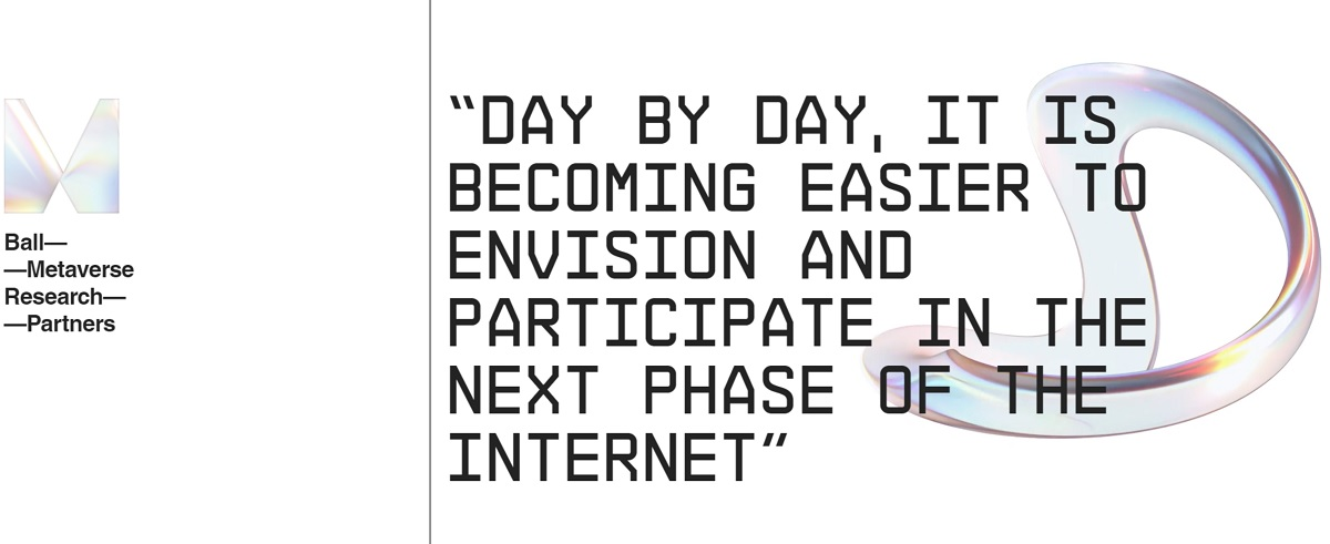 The Metaverse ETF is an index for the future of the internet.