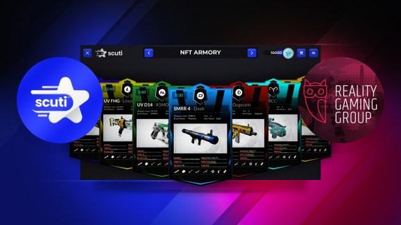 Scuti and Reality Gaming Group are enabling devs to sell NFTs in their stores.