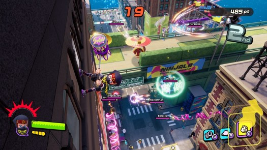 Ninjala has some pretty zany combat.