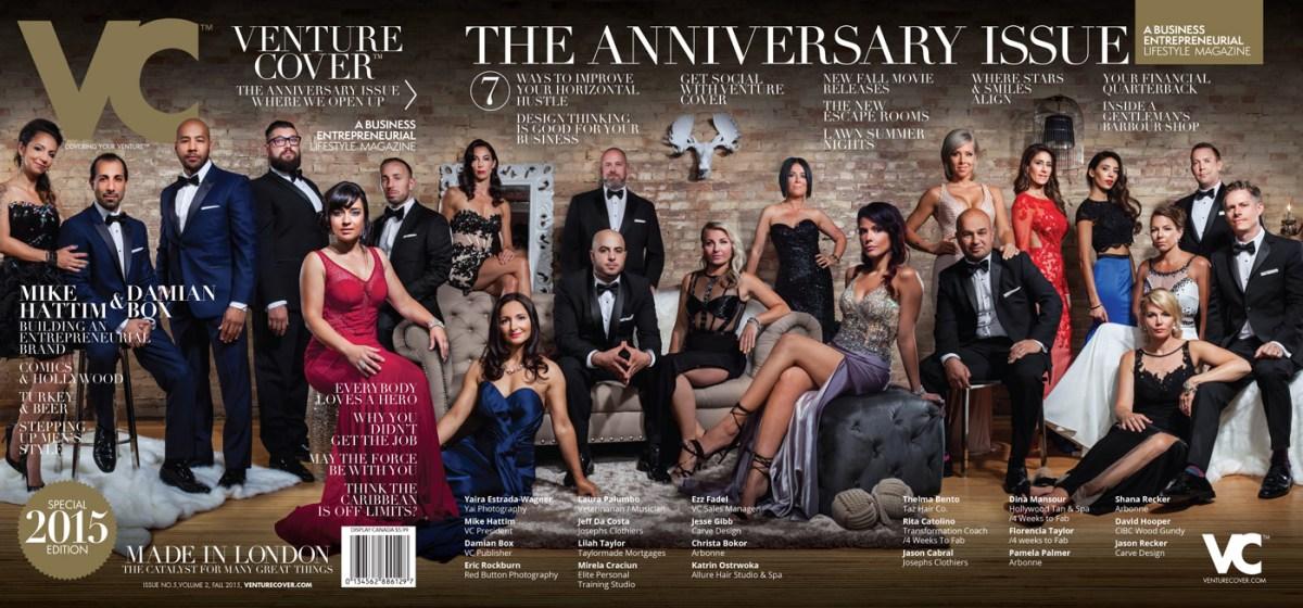 Venture Cover Anniversary