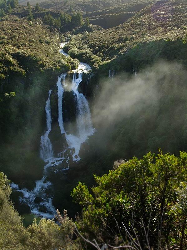 Waterfalls around Taupo: Waipunga Falls