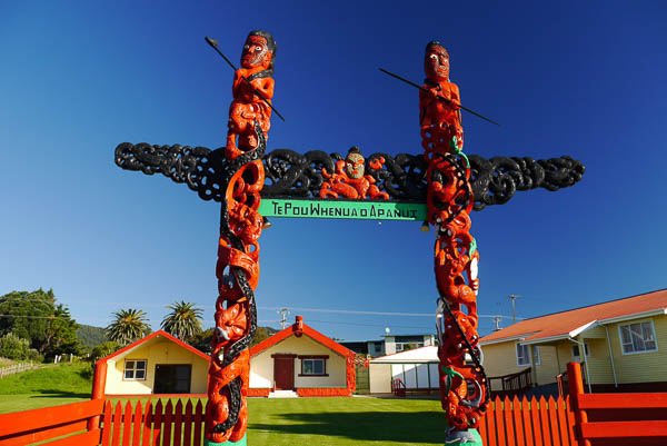 Omaio Marae - Eastland treasures