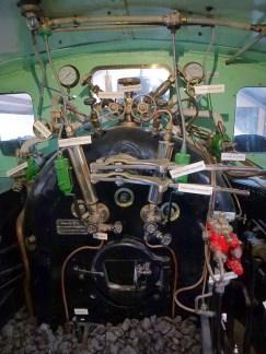 Inside the Fell locomotive
