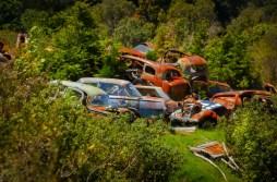 more Smash Palace car wrecks