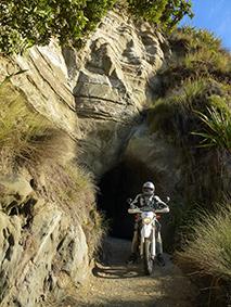 Passed thru the Waikawau Tunnel