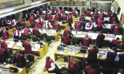 Image result for Nigerian stock exchange trading floor