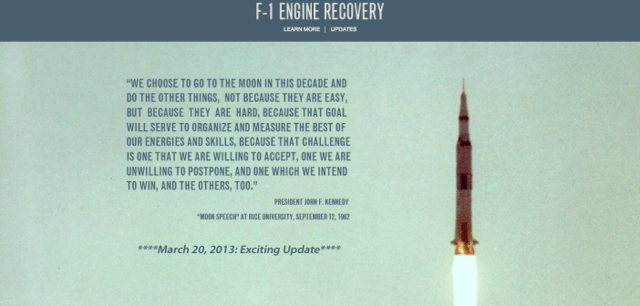 F-1 Engine Recovery - Bezos Expeditions