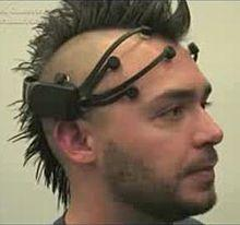 Emotiv device.  Haircut not included.  Thank god