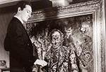 Whole thing reminds me a bit of the Picture of Dorian Gray