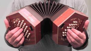 A concertina, in case you were wondering