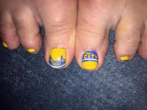 My Toes are Playoff Ready!