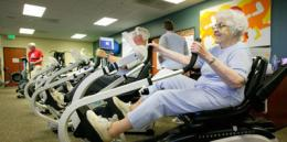 Cardiac Rehab in action