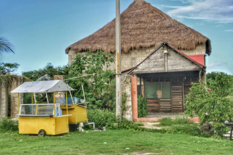 A small home in Costa Maya Mexico
