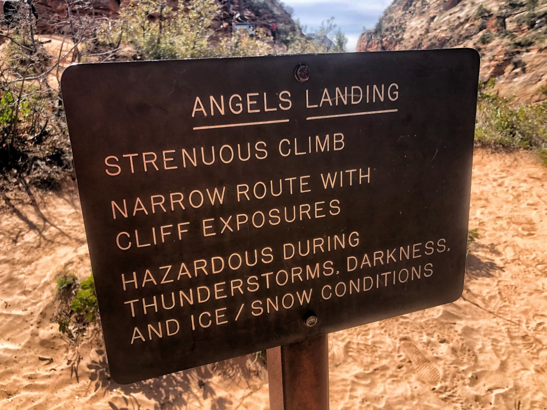 Dangerous Hikes: Angels Landing in Zion National Park