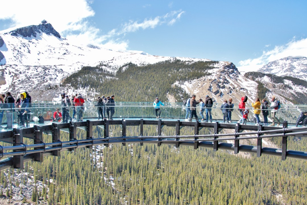 Glacier Skywalk Alberta