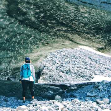 Gulkana Glacier Ice Cave