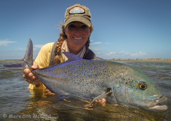 Meredith McCord Bluefin Trevally