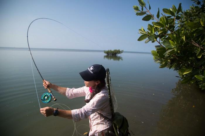 Aimee Eaton Venturing Angler