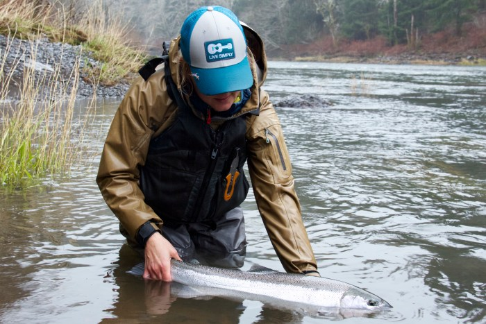 Kate Taylor Oregon Steelhead