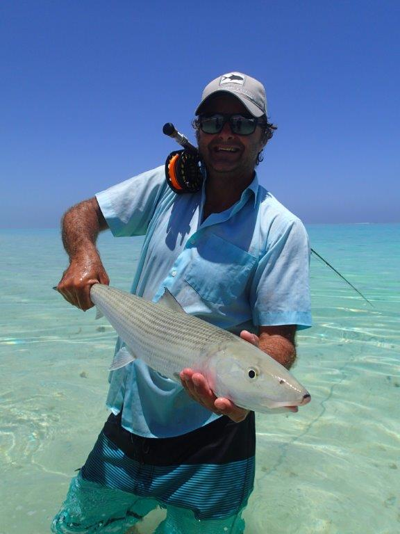 Exmouth bonefish on the fly