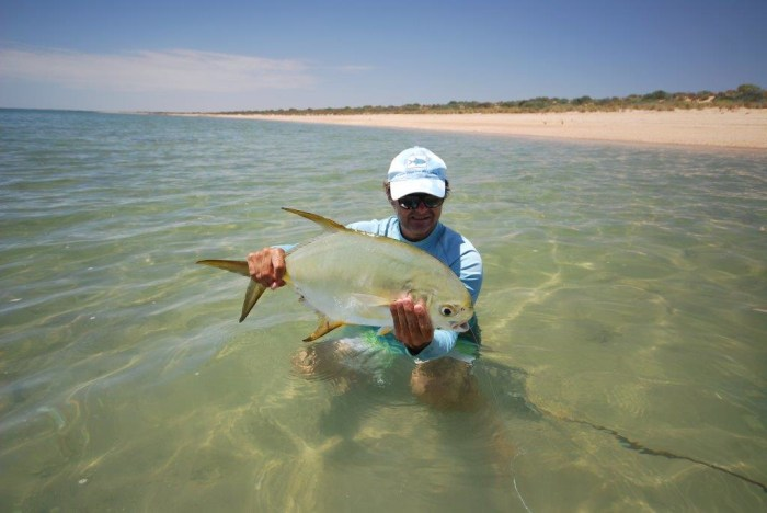 Exmouth permit on the fly
