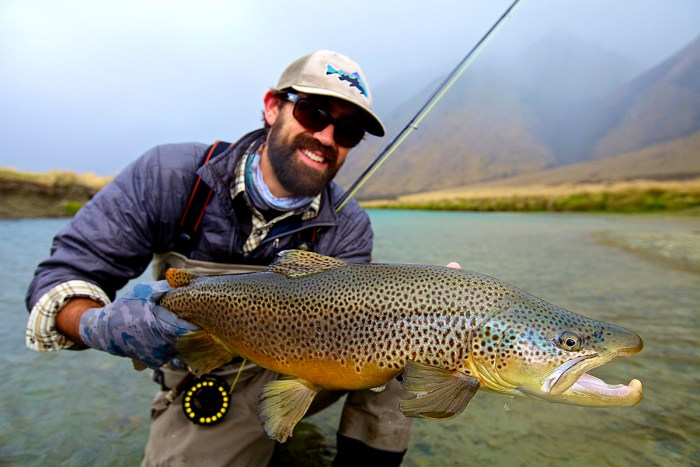 Lucas Young New Zealand Fly Fishing