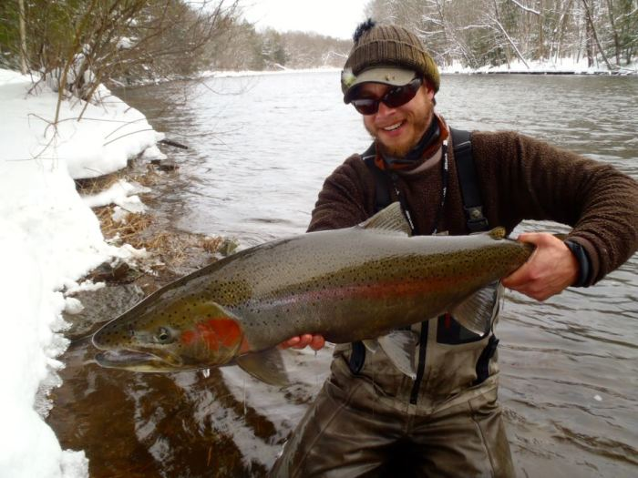 Tom Martin Steelhead Guide
