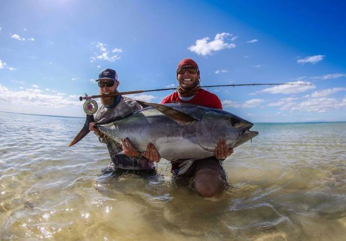 Jonathan Jones tuna on the flats