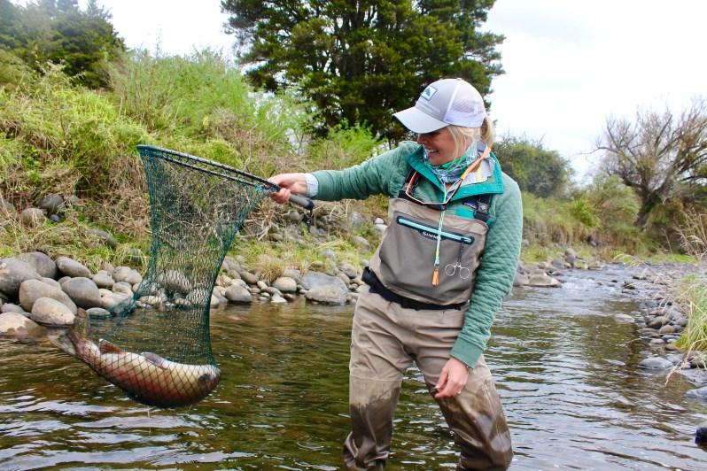 Bessie Hudgens trout