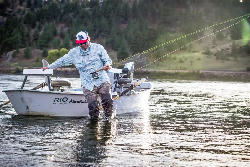 Mark Raisler fly fishing