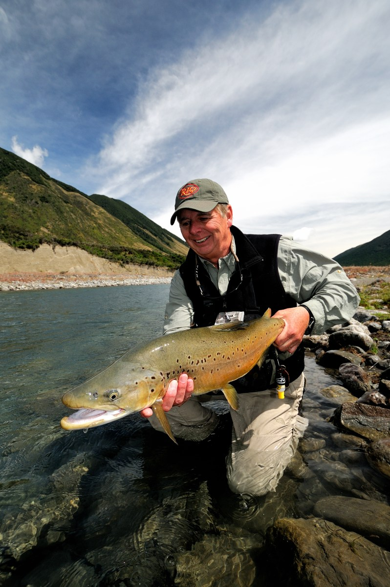 Barry Beck trout