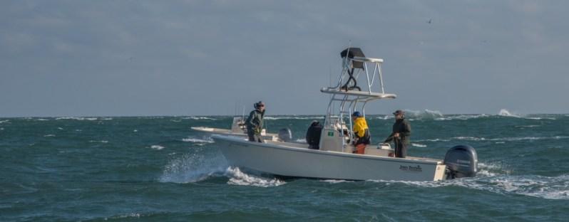 Sarah Gardner fishing