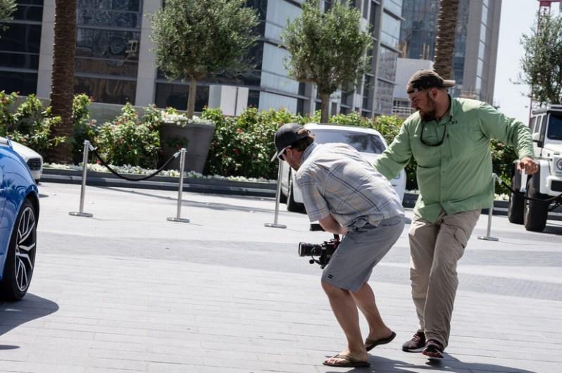 RA Beattie filming
