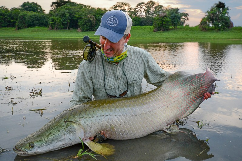 arapaima fly fishing Rafael Costa