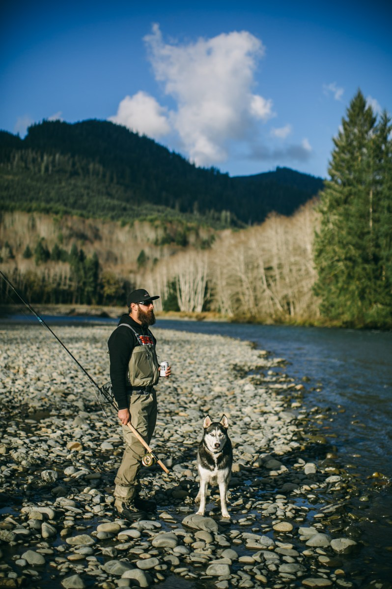 Jeremiah Houle fly fishing