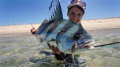 Katka Svagrova roosterfish