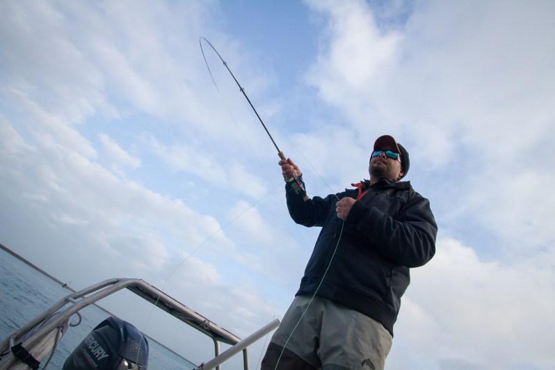 Austin Adduci fly fishing