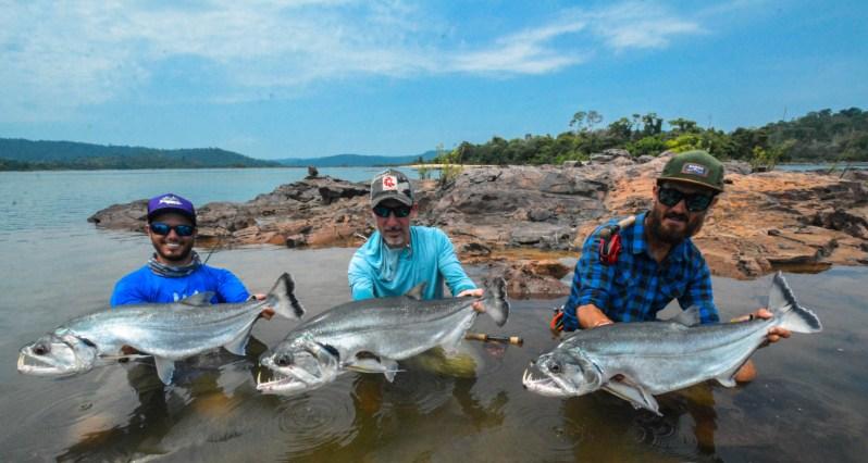 Brazil payara fly fishing