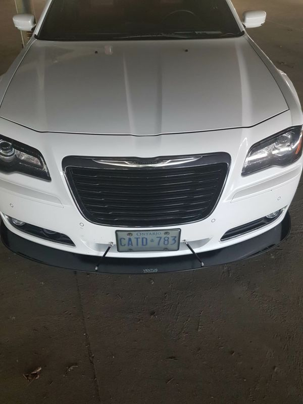 Chrysler 300 Black Grill : chrysler, black, grill, 2011-2014, Chrysler, Models, Front, Splitter, Ventus, Autoworks