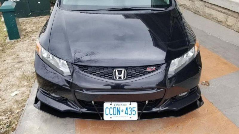 2013 Honda Civic Coupe >> 2012 2013 Honda Civic Coupe Hfp Lip Front Splitter