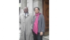 Italy - Rome - Venu with Jean Leonard Toudai - Deputy Mayor of Rome and Member of European Parliament