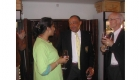 South Africa - Cape Town - Venu with the British Ambassador to Cape Town, Paul Boateng
