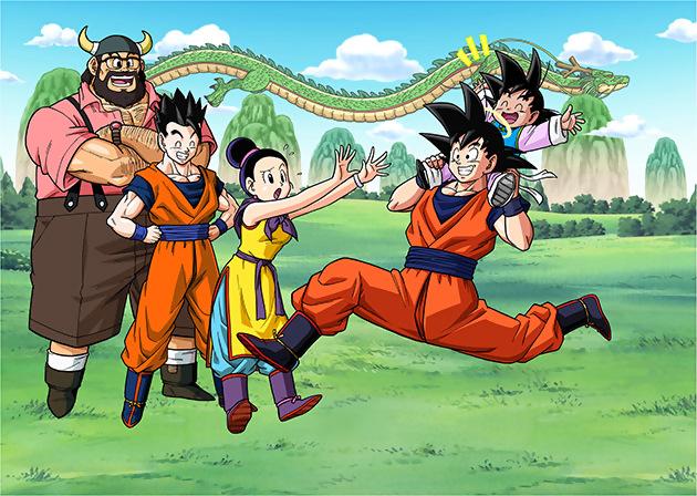 Goku Dragon Ball Z Family