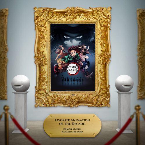 Demon Slayer Key Art Frame