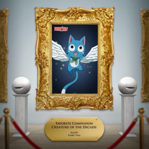 Happy Fairy Tail Framed