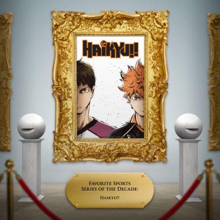 Haikyu! key art framed
