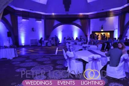 tilden-suite-at-shrigley-hall-purple-wedding-lighting